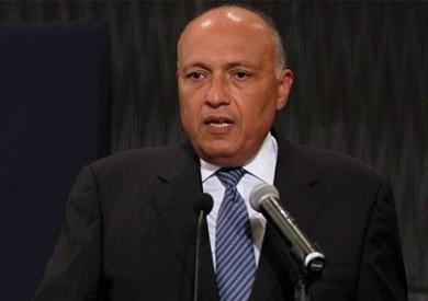 شكري: نحتاج إلى تسريع مفاوضات سد النهضة.. ولمسنا توجها إيجابيا من إثيوبيا