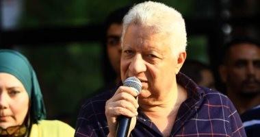 مرتضى منصور يذيع 4 مكالمات مسجلة لأحمد سليمان فى عمومية الزمالك