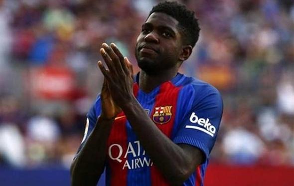 صدمة قوية لبرشلونة بإصابة أومتيتي مع منتخب فرنسا