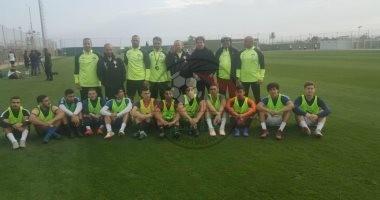 صور .. المنتخب الاولمبى يستقبل 12 محترفا للاختبار بمعسكر إسبانيا