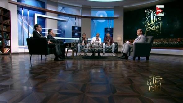 «بلاك تيما» تبهر عمرو أديب بأدائهم المتميز .. فيديو