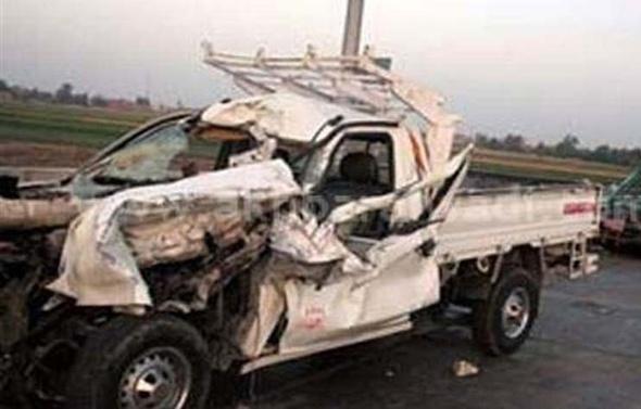 بالاسماء.. مصرع 7 عمال وإصابة 4 في حادث مروع بالفيوم