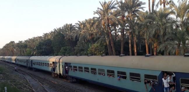 """وفاة سائق تروسيكل اقتحم شريط السكة الحديد بخط """"المنصورة- المطرية"""""""