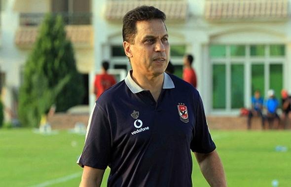 حسام البدري يعقد محاضرة بالفيديو مع لاعبي الأهلي
