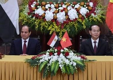 بسام راضي: مباحثات الرئيس ونظيره الفيتنامي تطور إيجابي في علاقات البلدين