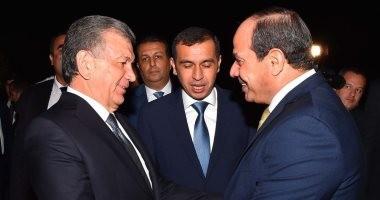 لحظة بلحظة.. جولة الرئيس السيسى الآسيوية تصل إلى أوزبكستان