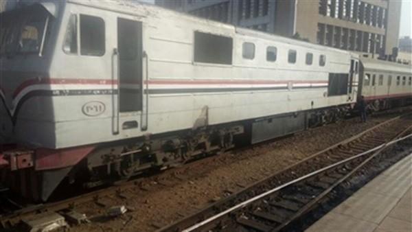 السكة الحديد تنفي خروج قطار أبو قير عن القضبان