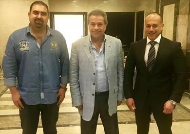 توفيق عكاشة يتعاقد مع قناة الحياة 3 سنوات