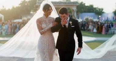 فيديو يرصد اللحظات الأولى من حفل زفاف بريانكا شوبرا ونيك جوناس
