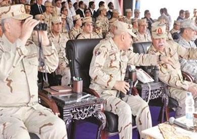 الجيش ينفذ أكبر مناورة بالذخيرة الحية على الحدود الغربية