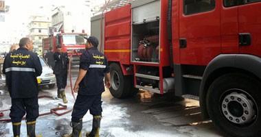 السيطرة على حريق اندلع داخل مخزن للأغذية في إدفو بأسوان
