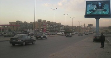المرور يغلق طريق اﻷوتوستراد جزئيا 21 يوما من 12 ليلا لـ6 صباحا لتطويره