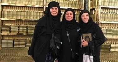 يسرا وإلهام شاهين وهالة سرحان فى السعودية لأداء فريضة الحج