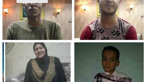 صبة خرسانية وبرميل مواشي.. القصة الكاملة لشنق وقتل ربة منزل وطفل بقنا.. صور