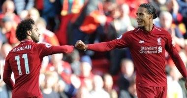 محمد صلاح وفان ديك على رأس تشكيل ليفربول ضد ليستر سيتي