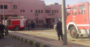 """مدير أمن """"الإنتاج الإعلامى"""": حريق المدينة محدود ولم يتسبب بخسائر أو إصابات"""