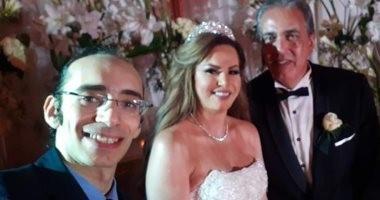 فنانون وإعلاميون ونجوم مجتمع فى حفل زفاف جيهان منصور.. صور وفيديو