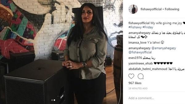 أحمد الفيشاوي يكشف عن صور زوجته الجديدة