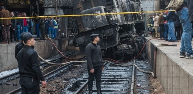 النائب العام يكشف نتائج تحقيقات حريق قطار محطة مصر.. وتوصيات النيابة