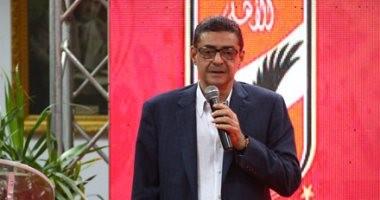 بالصور..قائمة محمود طاهر تجتمع بأعضاء الأهلي قبل انتخابات 30 نوفمبر