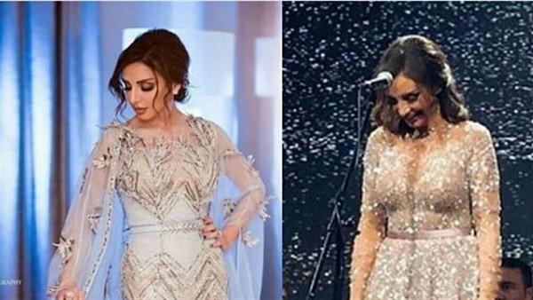 أنغام بإطلالتين مختلفتين في العيد.. أيهما الأجمل.. صور