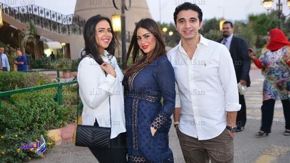 إيمي سمير غانم في عقد قران ابنة أحمد صيام قبل زفافها بأيام.. صور