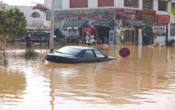 رفع حالة الطوارئ لمواجهة السيول في البحر الاحمر