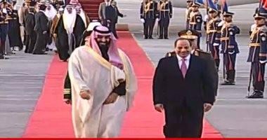تفاصيل زيارة الرئيس السيسى وولى العهد السعودى إلى دار الأوبرا المصرية