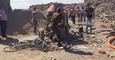 حملة مكبرة لإيقاف أعمال البناء بـ5 عقارات مخالفة فى الإسكندرية