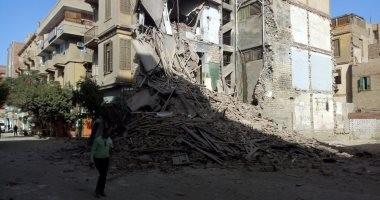 رئيس مدينة بنى سويف يكشف أسباب انهيار جزء من عقار بحى مقبل