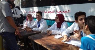 قافلة الأزهر الطبية لبئر العبد تختتم عملها بعد فحص 4541 مريضا