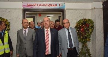 """غداً .. جامعة أسيوط تحتفل بـ"""" يوم زراعة الكبد """" بمستشفى الراجحى الجامعى"""