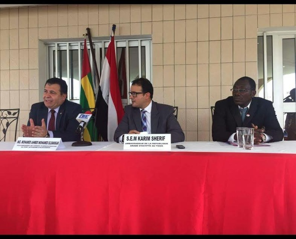 بحث سبل التعاون بين ميناء الإسكندرية وميناء لومي التوجولي