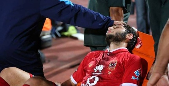 طبيب الأهلي يوضح الإصابات التي تعرض لها لاعبي الأهلي في مباراة بتروجت
