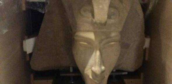 """المتحف الكبير يستقبل تمثال """"إخناتون"""" و850 قطعة من عصر الدولة الوسطى"""