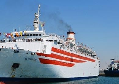 وصول 1526 راكبًا و5 آلاف طن بوتاجاز وتداول 452 شاحنة بموانئ البحر الأحمر