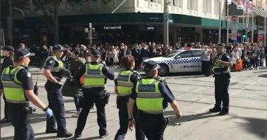 الصور الأولى من موقع الهجوم المسلح فى أستراليا