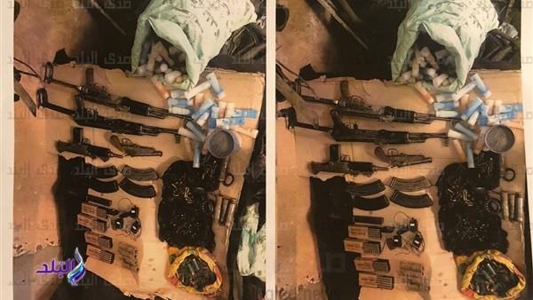 شاهد .. العثور على قنابل ومواد سامة بحوزة خلية كنيسة العذراء الإرهابية