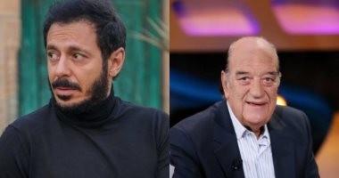 """بعد ظهوره كضيف شرف.. حسن حسنى يودع """"أبو جبل"""" مع مصطفى شعبان"""
