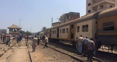 """بيان لـ""""السكة الحديد"""": لا صحة لخروج قطار أبو قير عن القطبان"""