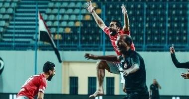 الأهلي ضد سموحة.. احتفال أحمد فتحى الأبرز فى موقعة بتروسبورت