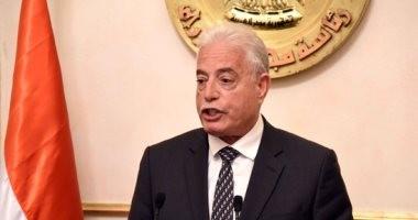 محافظ جنوب سيناء يتفقد موقع إنشاء مقر مجلس مدينة شرم الشيخ