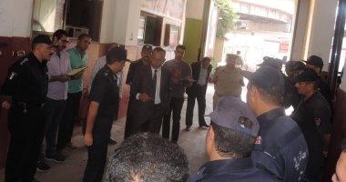 بالصور.. زيارة مفاجئة لمدير أمن الغربية لإدارة الحماية المدنية