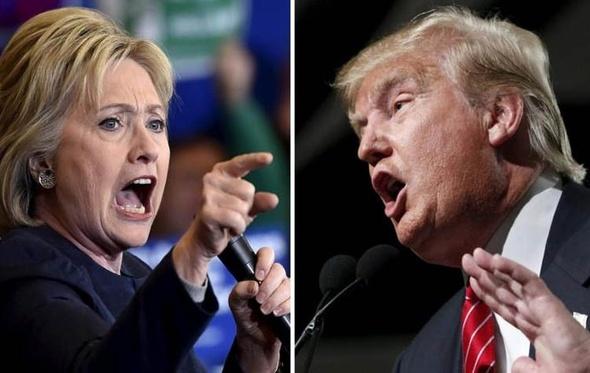 ترامب وكلينتون يتبادلون الاتهامات لكسب الأصوات