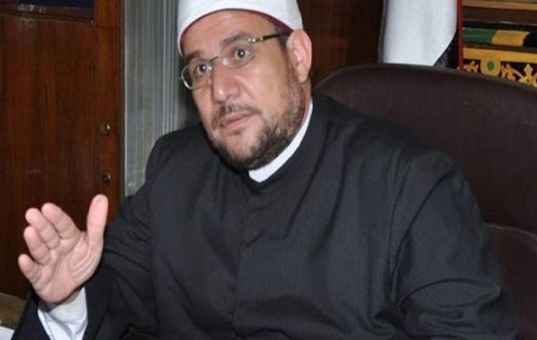 وزير الأوقاف يلقي خطبة الجمعة برأس غارب