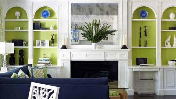 فكرة جديدة.. الأخضر أحدث ألوان الطلاء المميزة فى المنزل.. صور