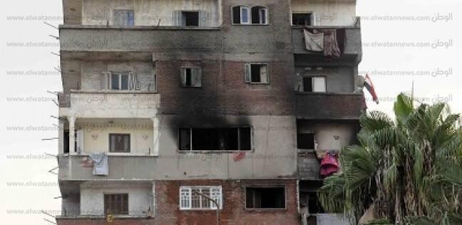 السيطرة على حريق بمنزل في البحيرة دون إصابات