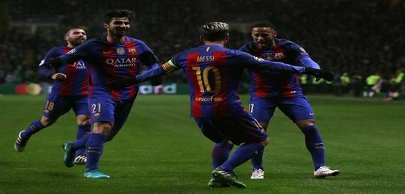 برشلونة ومانشستر سيتي يتأهلان لثمن نهائي دوري الأبطال
