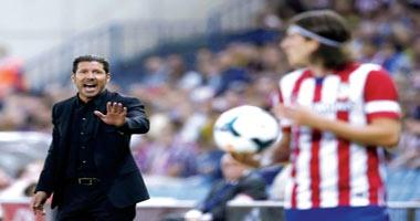 أتليتكو مدريد في مواجهنة ساخنة أمام ريال سوسيداد بالدوري الإسباني