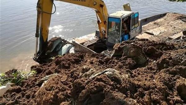 الري: إزالة 82 حالة تعد على نهر النيل في 8 محافظات اليوم